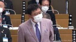 政務活動費不正取得問題 森市長 遺憾の意(KNB 令和3年3月12日 18時57分)