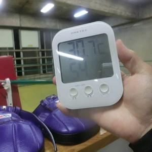 今日のボクシング (8/21・金曜日) 森田プロと3R✖2set @ おやじボクサー
