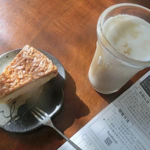 「アーモンドケーキ(シュールさん)」@ あさごはん。  そして、、、、コーヒー牛乳と一緒❤
