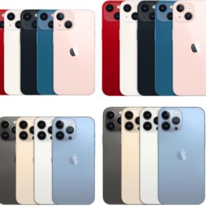 iPhone 13 / Pro / Pro Max / miniの大きさ・サイズ・重さの比較まとめ