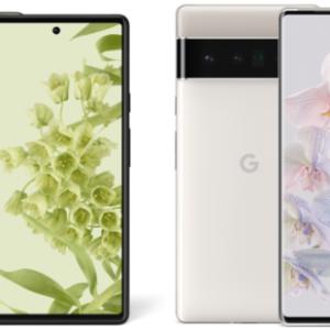Google Pixel 6 / 6 Proのサイズ・大きさ・重さの比較まとめ