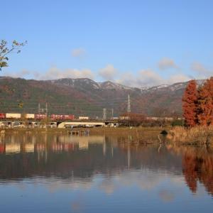 12月の鉄道風景