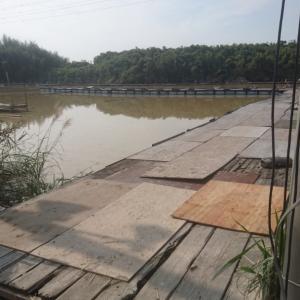 一部の桟橋復旧