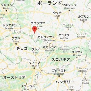 【海外】今日ポーランドへ