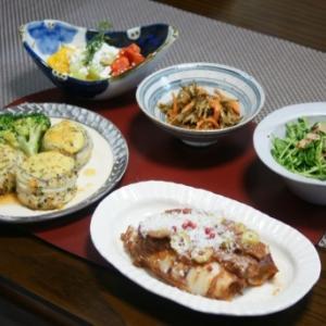 太刀魚マッシュポテト巻き・焼きパプリカマリネ☆CHICAのお土産