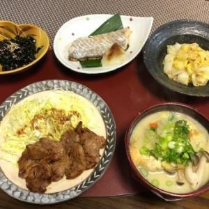 豚汁になる筈だったお味噌汁・太刀魚塩焼き☆CHICAって変な仔!?