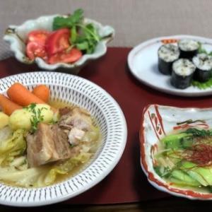 豚と春キャベツの和風ポトフ☆ダイエット経過