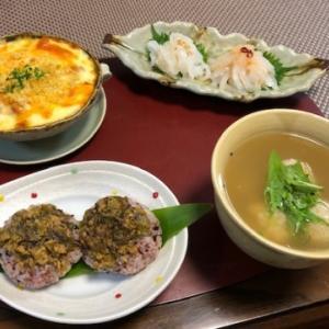 ふき肉味噌🍙・剣先刺身・太刀魚つみれ☆呑み過ぎ注意