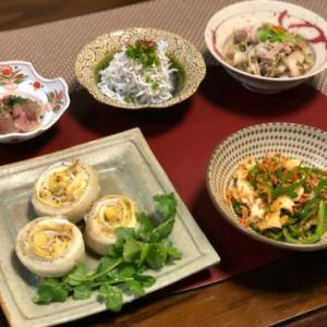 太刀魚とパースニップで巻き巻きオーブン焼き