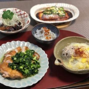 小松菜ソースのチキンソテー・日曜日は主婦業の日