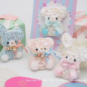 little bare&little rabbit♡*mon bijou 新作*by までみゅ~