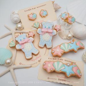 夏の焼菓子「クッキーアクセサリー」*NONOLAND 新作*