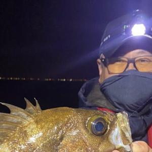 釣行 メバル239[ 湾奧 ] 尺メバル降臨の東京湾奥ボートメバリング@林遊船