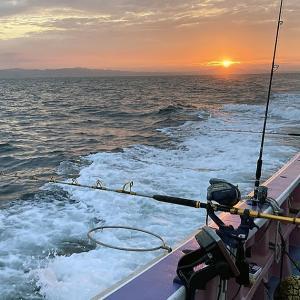 釣行 キハダマグロ・カツオ 4 [ 相模湾 ] 2021年はどうでしょう@長井漆山港・昇丸