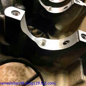 SさんのZ1100GPについて、エンジンオーバーホールを行う その3~破損したクランクケースの補修