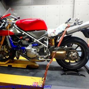 Ducati 996Rのパワー&空燃比計測とリセッティング