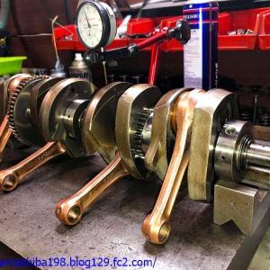 IさんのZ1エンジン、オーバーホールした直後の再オーバーホール その6~クランク及びミッション