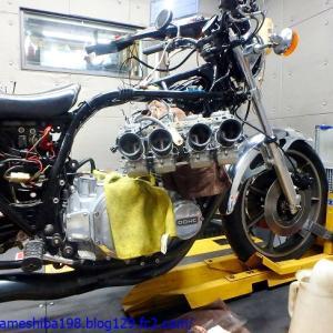 IさんのZ1エンジン、オーバーホールした直後の再オーバーホール その9~キャブセット煮詰めから納車