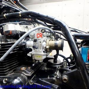 不調に陥ってしまった空冷最強GPz1100にCR-M33&ウオタニSP-2(Ver.FM)を装着セッティング 後編~セッティング完了