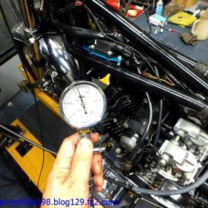 EさんのZ900エンジンオーバーホール その4~CR-M33のセッティングからオーバーホール作業完了