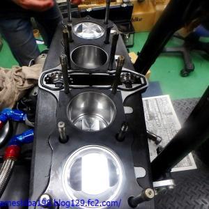 HさんのZ1000MK2エンジンオーバーホール その5~シリンダーヘッドの組付けから初期慣らしの開始