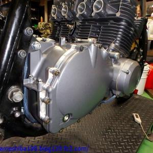 OさんのGS1000エンジンオーバーホール その10~オイルを入れてクランキング、そしてコンプレッション計測