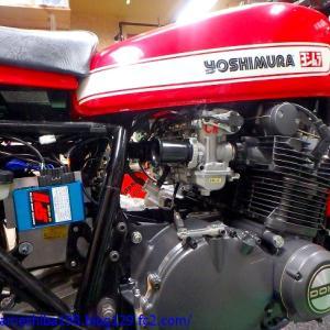 OさんのGS1000エンジンオーバーホール その11~CR-M33TPS仕様&ウオタニSP-2(Ver.FM)の装着、そしてブレーキ周りの作業まで完了
