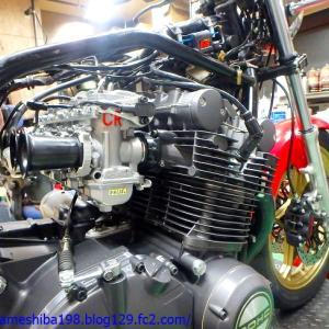 OさんのGS1000エンジンオーバーホール その13~CR-M33TPS仕様のセッティング煮詰め