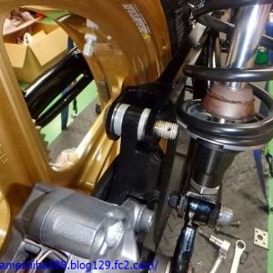 ヨシムラGS1000レプリカの製作 その17~車体各部のチリ合わせ調整