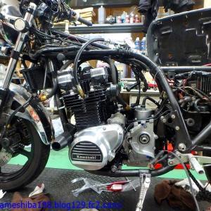 NさんのZ1000MK2エンジンオーバーホール その4~エンジンの完成と初期ならし