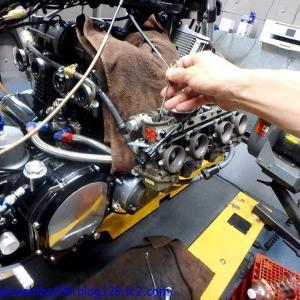 MさんのZ1000MK2エンジンオーバーホール その6~シャーシダイナモ上でのならしからキャブセッティング煮詰めにて完成に至る