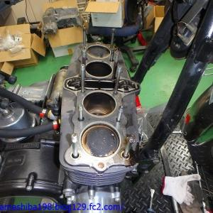 SさんのZ1000MK2エンジンオーバーホール その2~ピストン&シリンダーライナーの摩耗&錆腐食