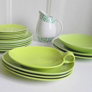Stig Lindberg コロラードCOLORADO ライムグリーンのお皿各種