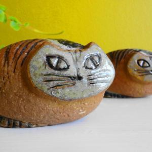 リサ ラーソンLisa Larson Lilla zooシリーズのまる猫 再々入荷しました