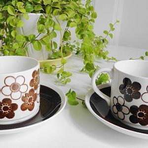 ロールストランドRorstrand社製、 アネモンANEMON  コーヒーC&S