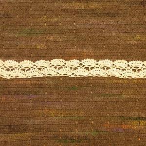 「ウォッシュコットンで編むニット&小物」Fのプルオーバー編み始め