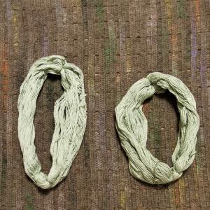 花模様のプルオーバー 編み直し