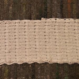 2021手編み大好き!まっすぐ編みのポロ襟プルオーバー 2玉編めました