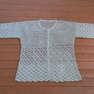 「'19 手編み大好き!」カーディガン 完成です