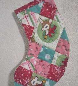 9月のレッスンはクリスマスブーツいろいろ