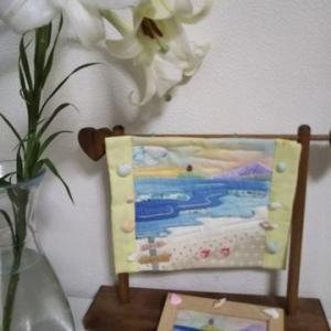 暑い八月だけどかごバッグで楽しいお出かけ 七里ガ浜のミニタぺ