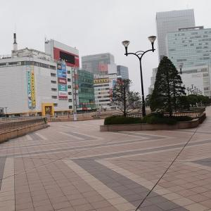 早朝仙台駅前