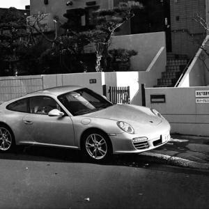 運転中のスマホ厳罰化とポルシェ997と蛇腹交換試写