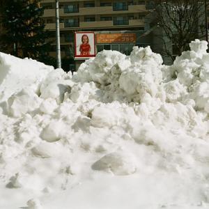 確定申告書の投函と春の重い雪