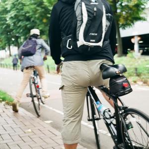 土曜日のサイクリングロード