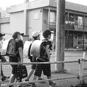 小学生下校時の光景