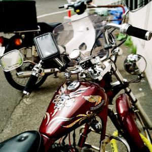 ハーレーにあこがれる原動機付自転車