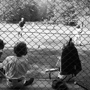 土曜日の低学年少年野球