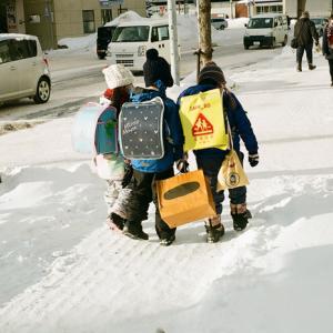 大寒の始業式