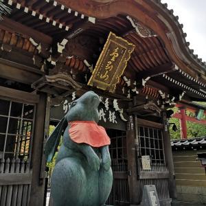 最勝院の五重塔と彼岸花(青森県弘前市)